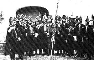 Die Uniformierung der Trabantengarde bis 1881