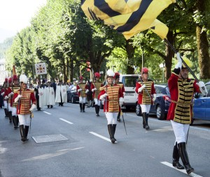 Trabantengarde in Bad Ischl