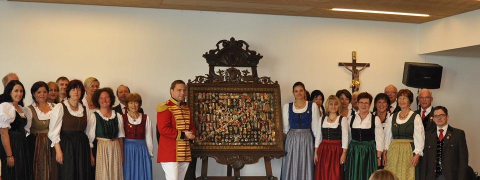 """Trabantengarde gratuliert dem """"Chor 1863″ zum 150-jährigen Jubiläum"""