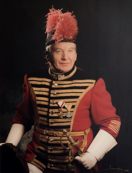 Rudolf Wernitznig – Ehrenfeldwebel