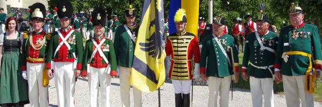 60. Landestreffen der Kärntner Bürger- und Schützengarden in Millstatt