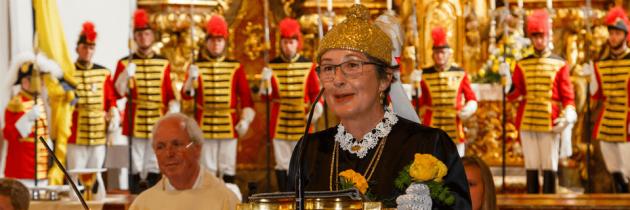 St.Veiter Goldhaubenfrauen feierten 130-Jahr-Jubiläum