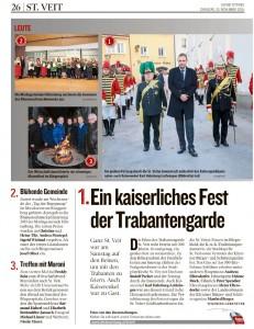 Kleine Zeitung, 10.11.2015, S.26