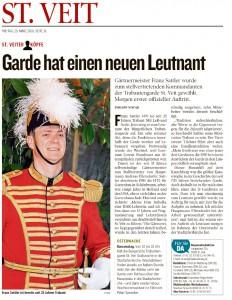 Kleine Zeitung, 25.03.2016, S.31