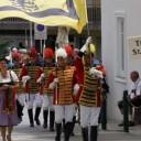 400 Jahre Bürgergarde Murau: Die Trabanten auf Besuch bei Samson