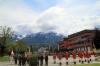 Die gesamte Formation vor dem Massiv der Karnischen Alpen