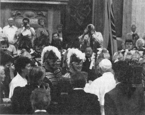 Ein großer Moment: Audienz bei Papst Johannes Paul II.