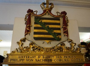 Wappen von Philipp von Sachen-Coburg und Gotha