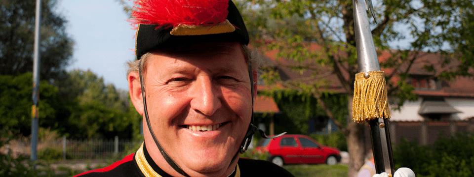 Günther Fritz in seinem Element