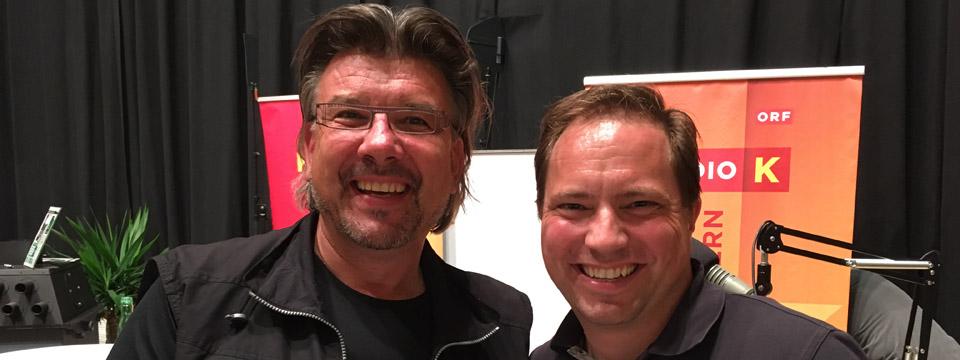 Josef Nadrag mit Hptm Andreas Ellersdorfer