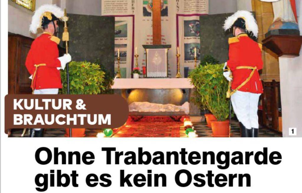Die Osterwache im Laufe der Zeit